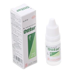 Thuốc nhỏ tai Otifar chai 8ml
