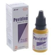 Dung dịch sát khuẩn, khử khuẩn Povidin 10% 20ml