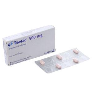 Thuốc kháng sinh Tavanic...