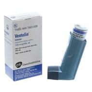 Thuốc xịt khí dung trị hen Ventolin Inhaler 100mcg hộp 200 liều