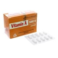 Thuốc vitamin A 5000IU...