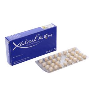 Thuốc trị phì đại tuyến tiền liệt tuyến Xatral XL 10mg 30 viên