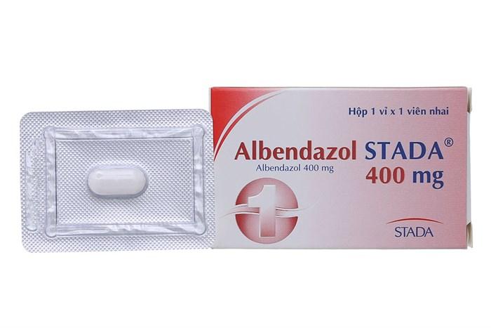 Thuốc Albendazol Stada