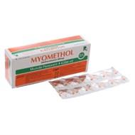 Thuốc Myomethol hộp 100 viên
