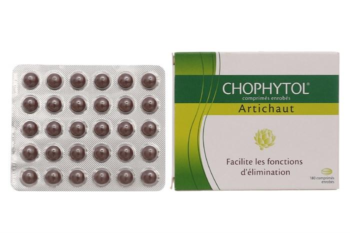 Kết quả hình ảnh cho CHOPHYTOL PHAP thuốc
