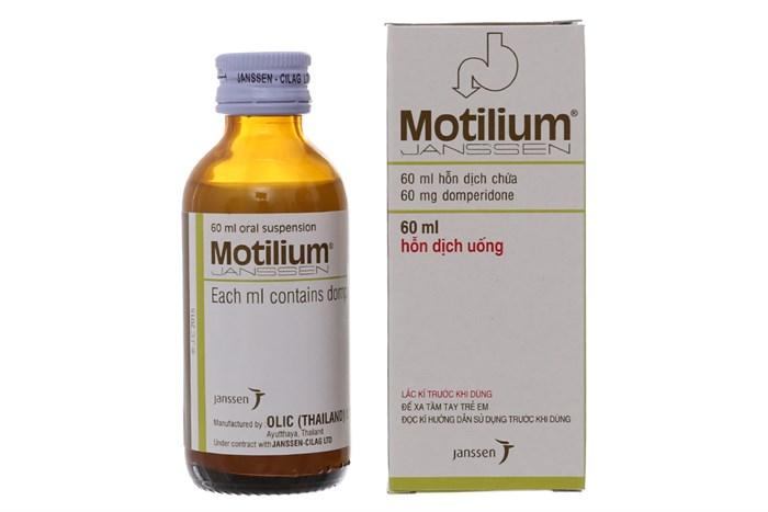 Hỗn dịch uống Motilium chai 60ml-Nhà thuốc An Khang