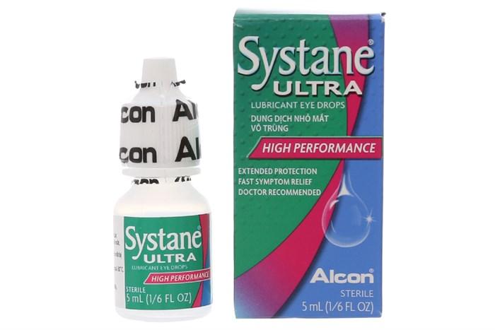 Thuốc nhỏ mắt Systane ultra 5ml