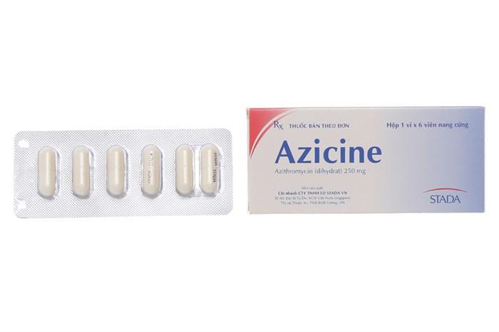 Azicine Stada 250mg