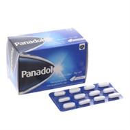Thuốc giảm đau, hạ sốt Panadol 500mg