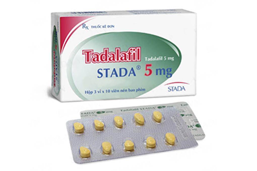 Thuốc trị rối loạn cương dương Tadalafil Stada 5mg