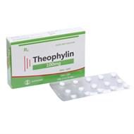 Thuốc trị hen Theophyllin 100mg hộp 30 viên