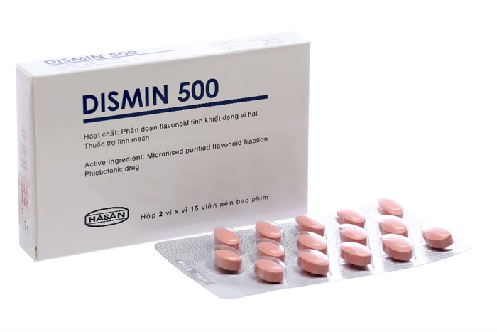 Thuốc trị trĩ Dismin 500
