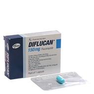Thuốc kháng nấm Diflucan 150mg