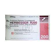 Thuốc trị đau thắt ngực Herbesser R200mg