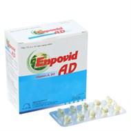 Thuốc bổ sung vitamin A, D Enpovid A-D 100 viên