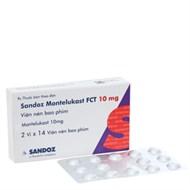 Thuốc điều trị hen phế quản Montelukast FCT 10mg 28 viên