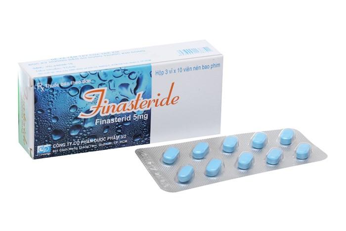 Thuốc điều trị phì đại tuyến tiền liệt Finasteride 5mg 30 viên