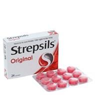 Viên ngậm trị đau họng Strepsil Original 24 viên
