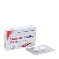 Thuốc trị giun, sán Albendazol Stada 200mg