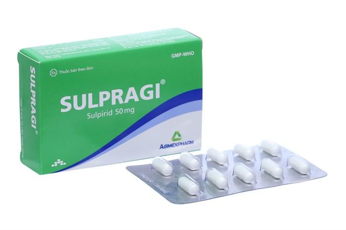Thuốc điều trị tâm thần Sulpragi 50mg 30 viên