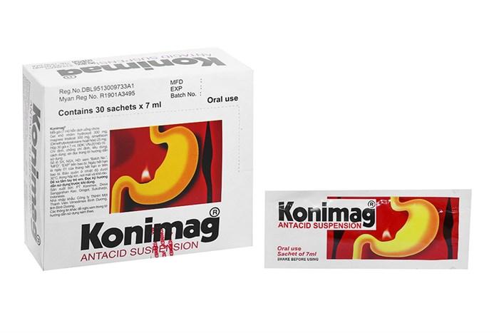 Thuốc trung hòa acid dạ dày Konimag 30 gói