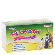 Siro Nic Vita 10ml hộp 20 ống
