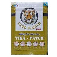 Miếng dán giảm đau con hổ Tika-Patch 4 miếng