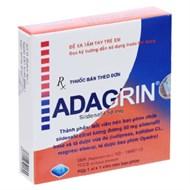 Thuốc trị rối loạn cương dương Adagrin hộp 1 viên