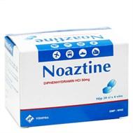 Thuốc chống say xe Noaztine 50mg 80 viên