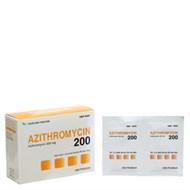 Thuốc kháng sinh Azithromycin 200mg Hậu Giang 24 gói
