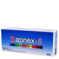 Thuốc điều trị rối loạn tâm thần Zapnex 5mg 60 viên