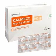 Thuốc trị bệnh lý thần kinh ngoại biên Kalmeco 500mcg hộp 100 viên