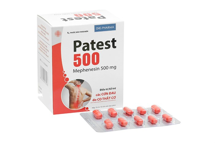 Thuốc Patest (mephenesin)
