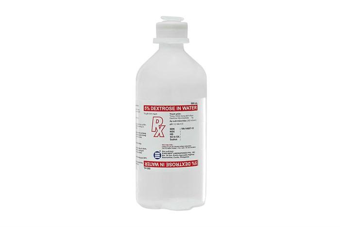 Dung dịch tiêm truyền tĩnh mạch Dextrose 5% Euro-Med 500ml