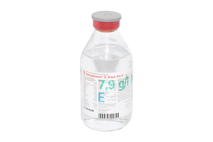 Dịch truyền Aminoplasmal B.Brawn 5% chai 250ml