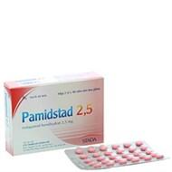 Thuốc trị cao huyết áp Pamidstad 2.5mg hộp 60 viên