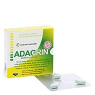 Thuốc trị rối loạn cương dương Adagrin 100mg 3 viên