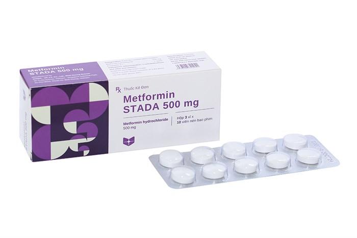 Thuốc Metformin Stada 500mg hộp 30 viên
