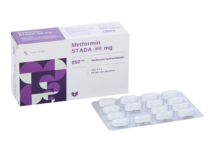Thuốc Metformin Stada 850mg hộp 60 viên