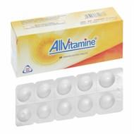 Thuốc Allvitamine hộp 60 viên