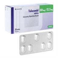 Thuốc huyết áp Tolucombi 80mg/12.5mg hộp 28 viên