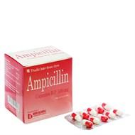 Thuốc Ampicillin 500mg hộp 100 viên