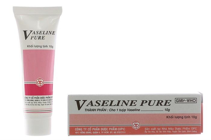 Tuýp dưỡng ẩm cho môi Vaseline Pure 10g