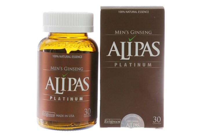 Viên uống Sâm Alipas Platinum 30 viên