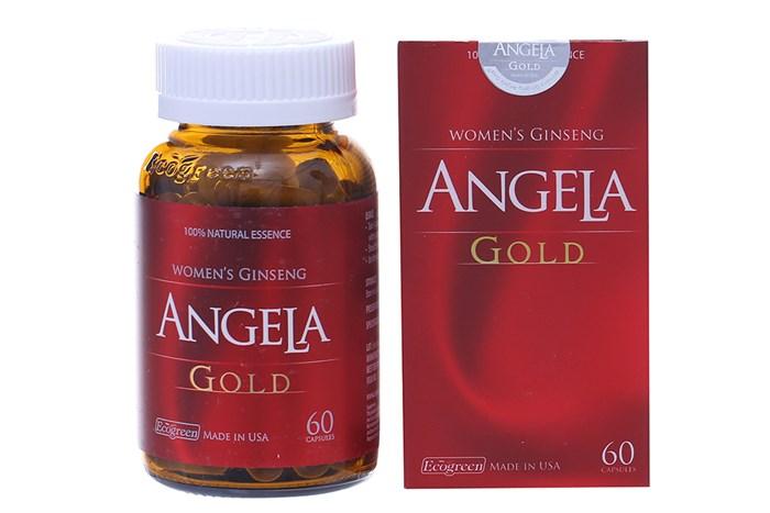 Viên uống Sâm Angela Gold 60 viên