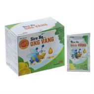 Siro ho Ong Vàng hộp 30 gói