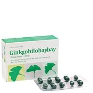 Viên uống cường tuần hoàn máu não Ginkgo Bilobaybay 60mg 30 viên