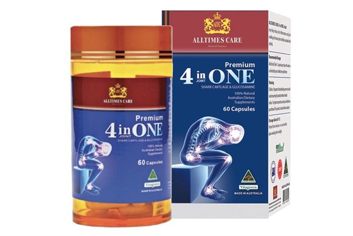 Viên uống bổ khớp Alltimes care 4 in One 60 viên