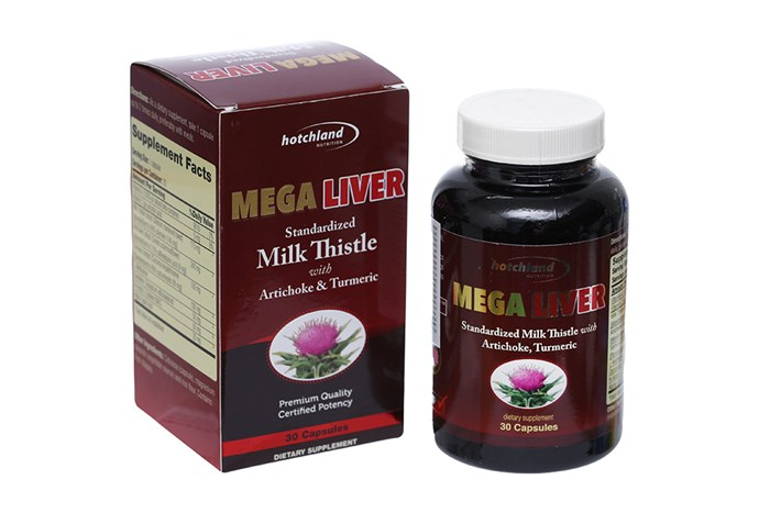 Viên uống mát gan, giải độc gan Mega Liver 30 viên