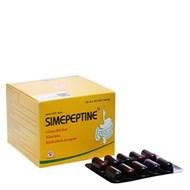 Men tiêu hóa Simepeptine hộp 100 viên